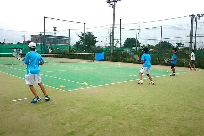 中学硬式テニス部